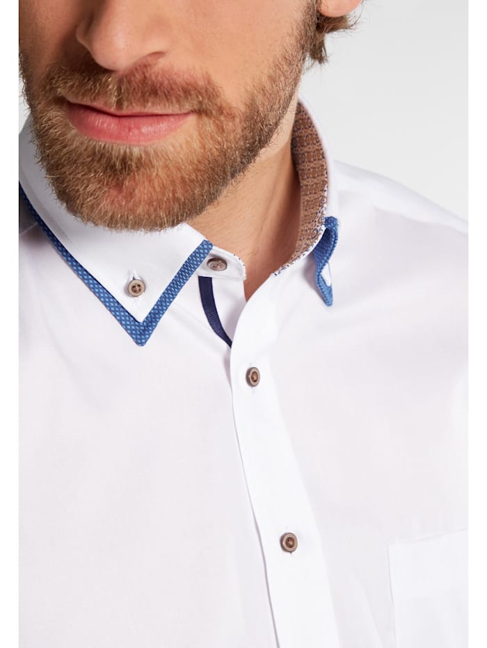 Eterna Langarm Hemd Comfort Fit Schnelle Lieferung