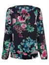 Tunika mit Blumendruck