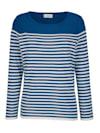 Pullover Mit Wellenabschlüssen am Saum und Ärmeln