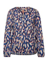 Bluse mit Ikat Print