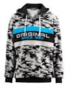 Sweatshirt met contrasterende inzetten