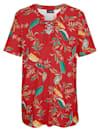 Shirt mit Allover-Dschungel-Print