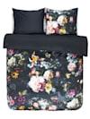 Parure de lit en satin 2 pièces Fleur