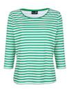 Shirt mit schönem Streifendruck