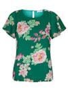 Bluse in floralem Design