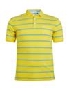 Gestreiftes Pikee-Poloshirt