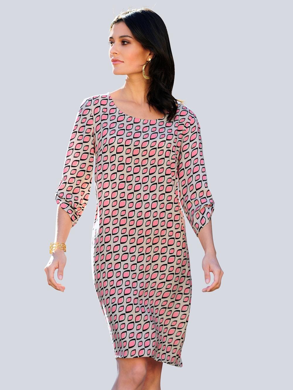 Alba Moda Kleid im exclusiven Dessin nur bei Alba Moda  Alba Moda