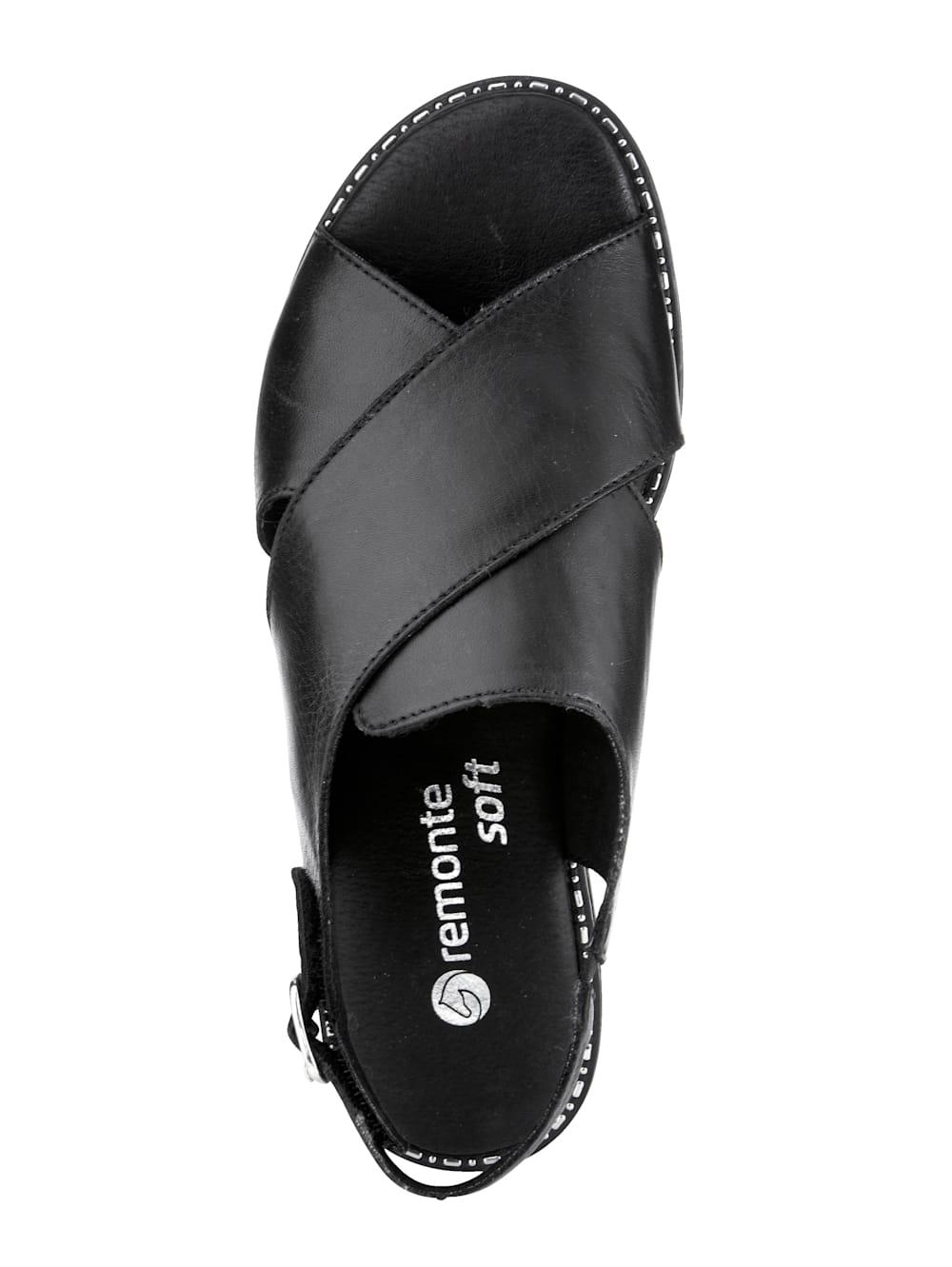 Remonte Sandale Schnalle,Klettverschluss sandalen