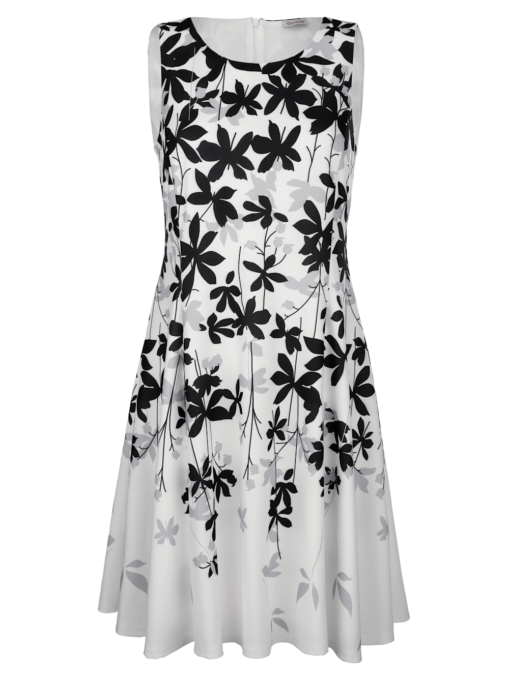 alba moda kleid mit floralem druck im verlauf | alba moda