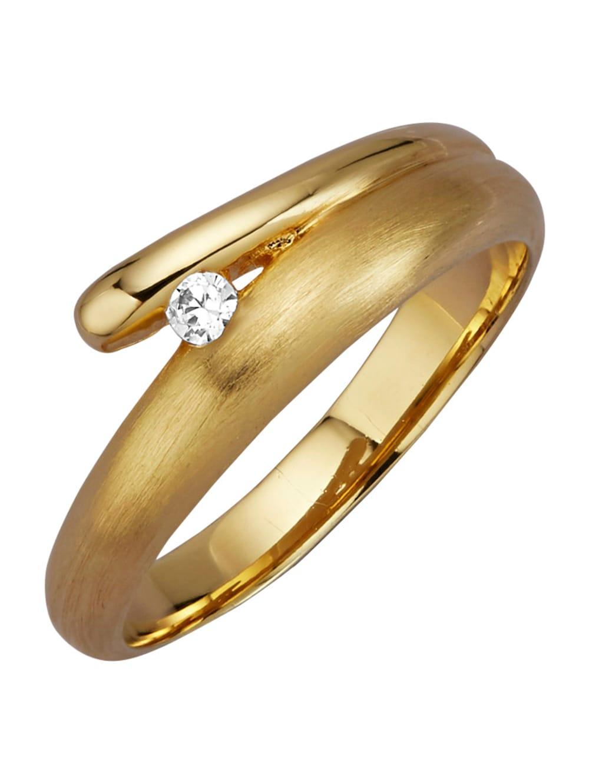 Golden Style Damenring vergoldet | Klingel
