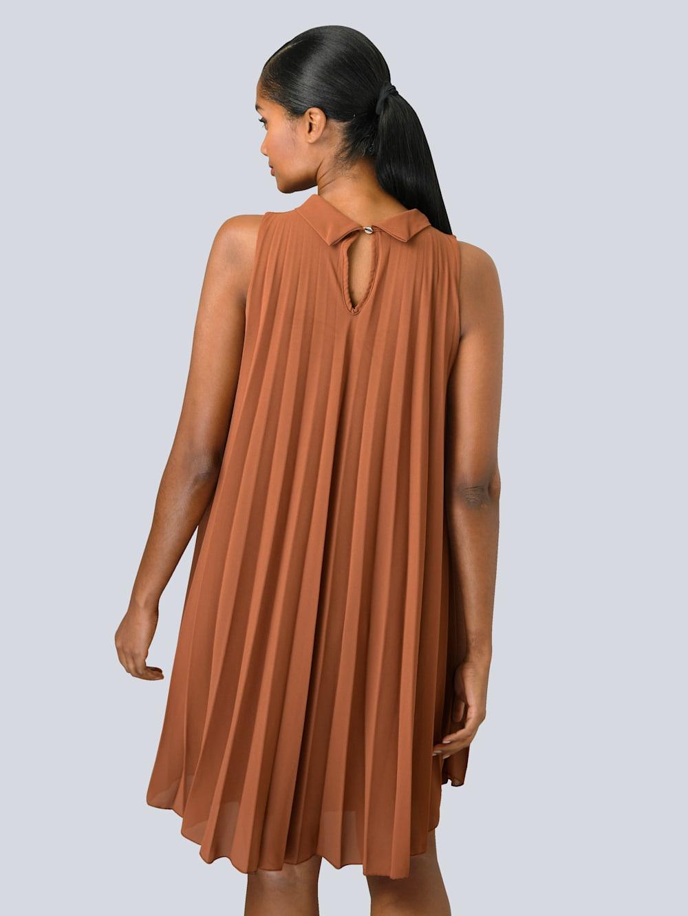 Alba Moda Kleid im Plissée allover  Alba Moda