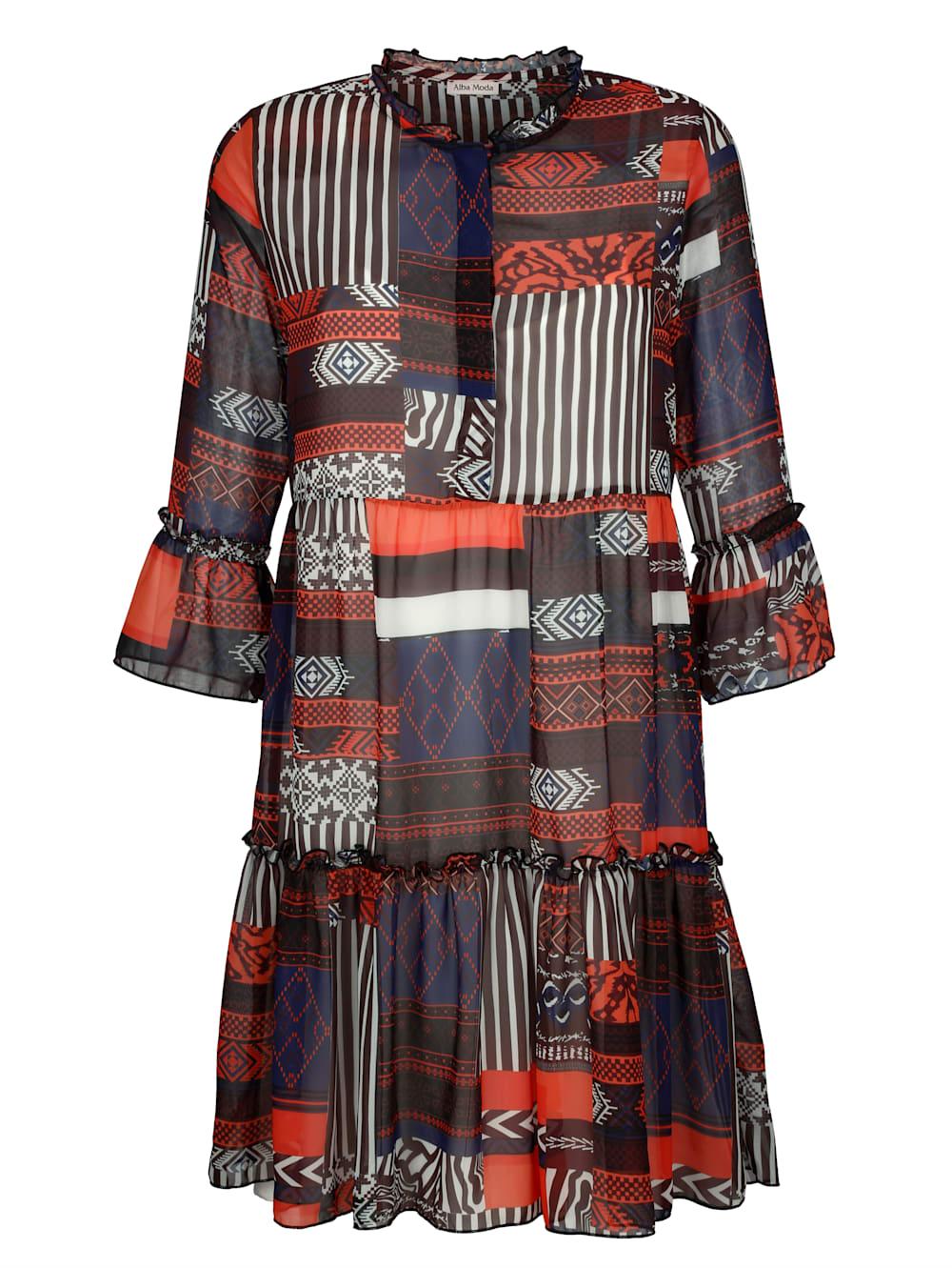 alba moda strandkleid mit stehkragen | klingel