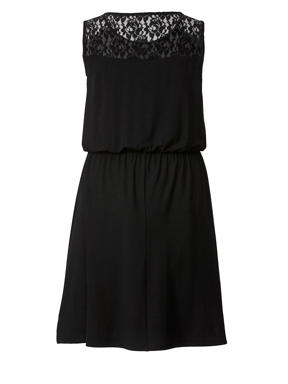 Angel of Style Jerseykleid mit Spitze | Klingel