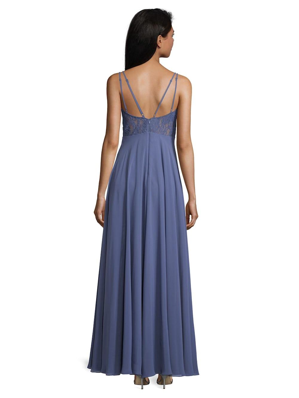 Vera Mont Abendkleid mit Spitze  Alba Moda