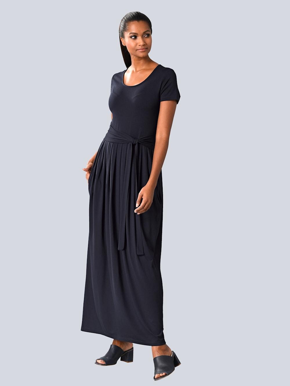 Alba Moda Kleid mit ausgestelltem Rockteil  Alba Moda