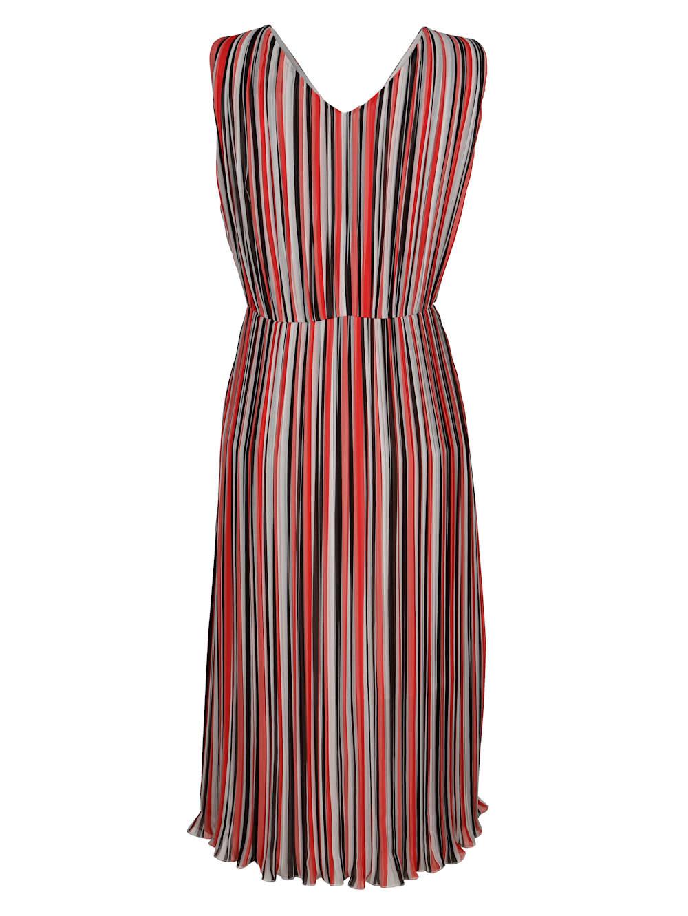 alba moda kleid aus plissierter ware | alba moda