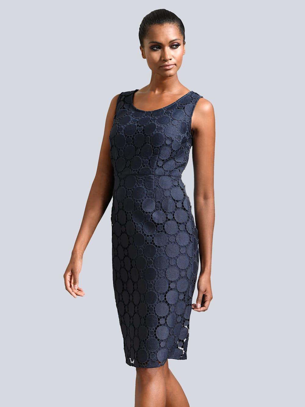 Alba Moda Kleid mit Spitze  Alba Moda