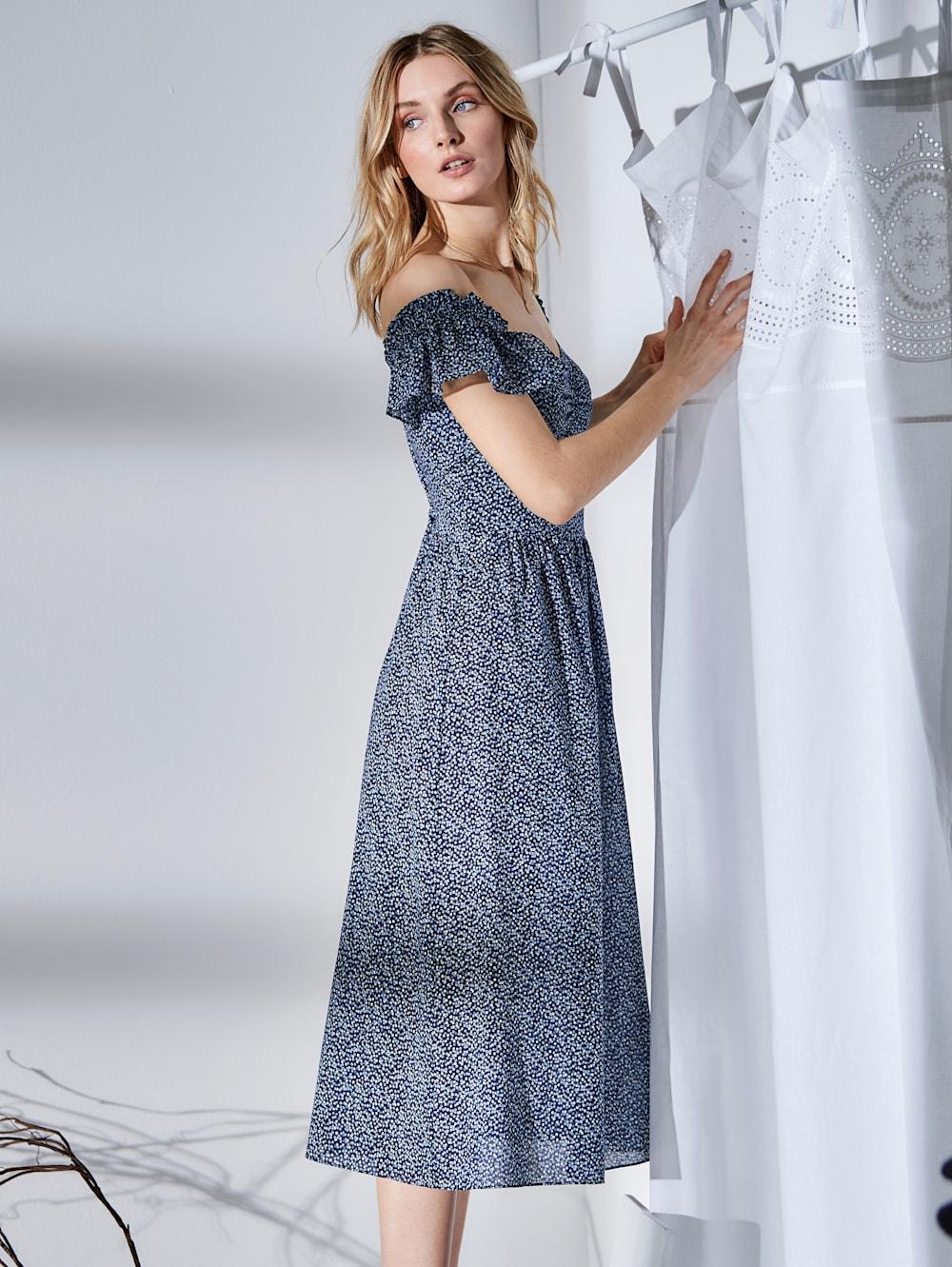 MICHAEL Michael Kors Kleid geblümt   Impressionen