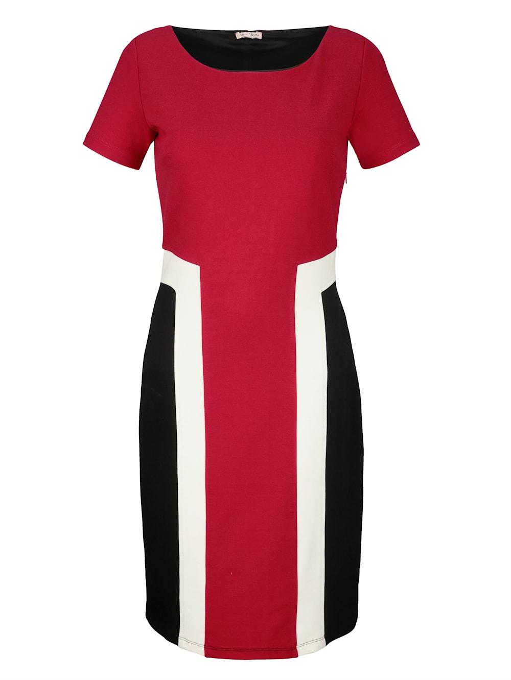alba moda kleid in colour-blocking | alba moda