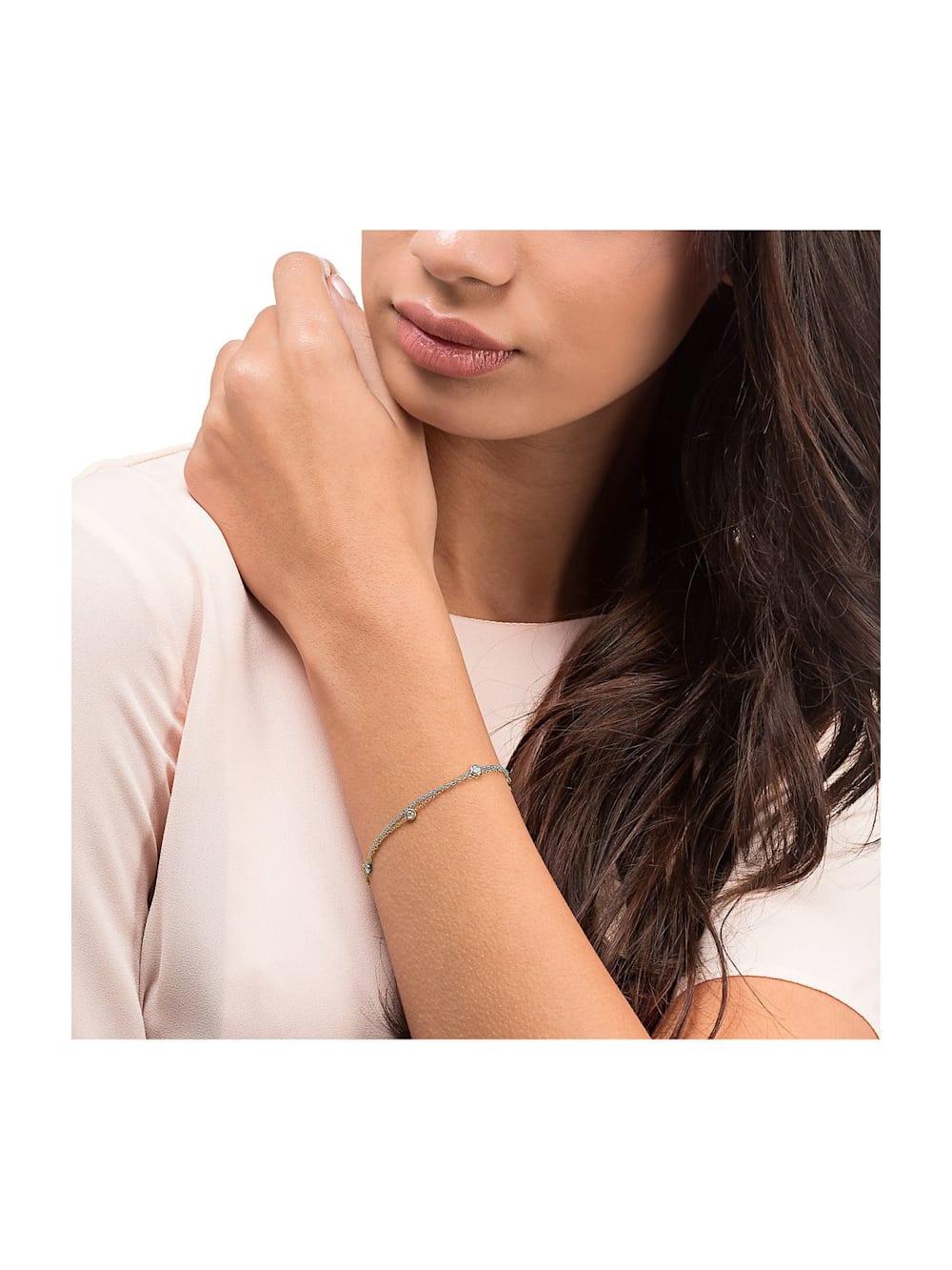 CHRIST Diamonds CHRIST Diamonds Damen Armband 585er Weißgold, 585er Gelbgold 5 Diamant | Klingel