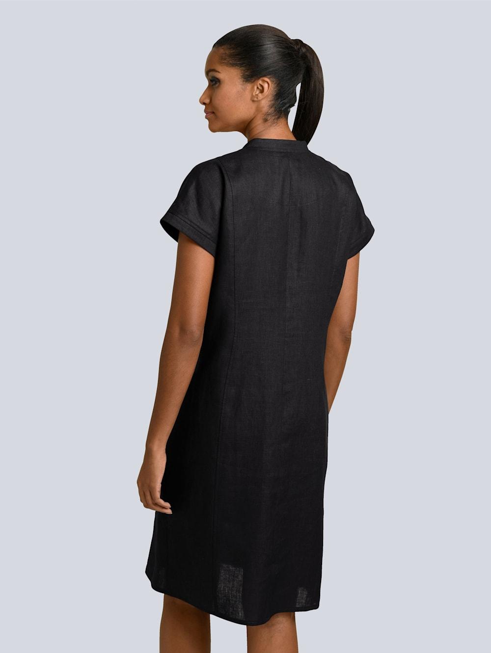 alba moda kleid aus reinem leinen | impressionen