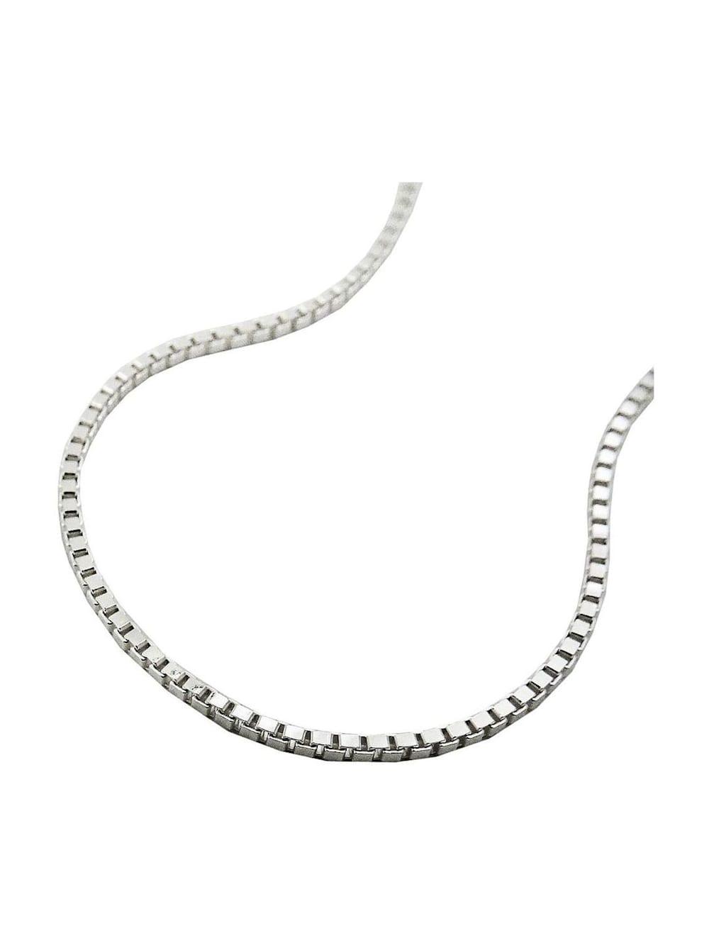 Gallay Schmuckgroßhandel Kette 1mm Venezianerkette glänzend Silber 925 38cm | Klingel