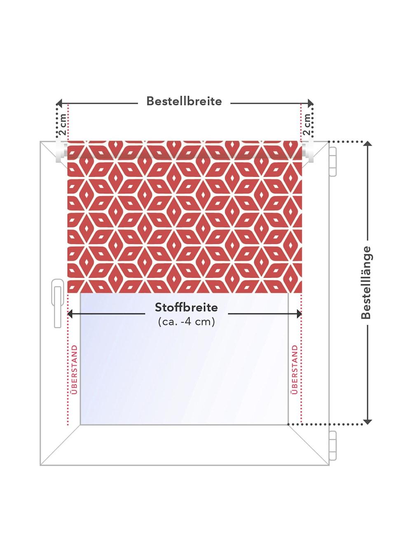 Doppelrollo Muster Welle Klemmfix Ohne Bohren