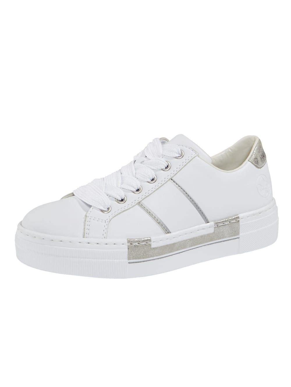 Rieker Sneaker met leren voetbed | Vamos