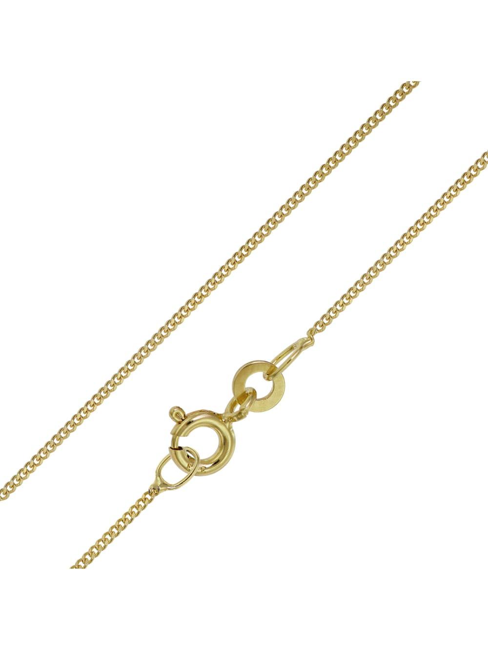 trendor Halskette für Damen und Herren Gold 333 Panzer | Klingel