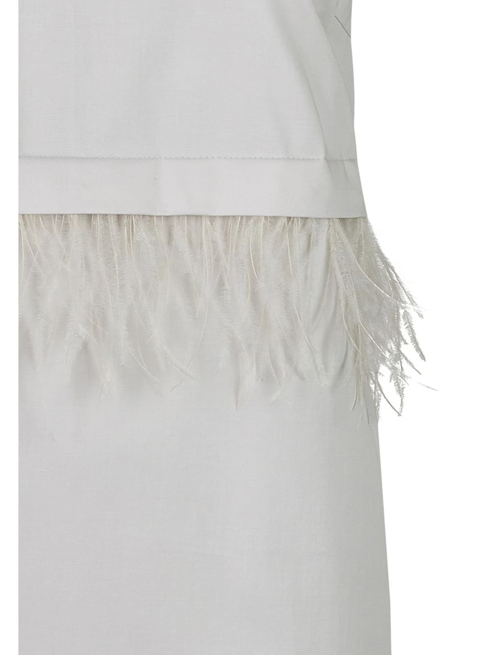Daniel Hechter Elegantes Kleid mit Federn  Klingel