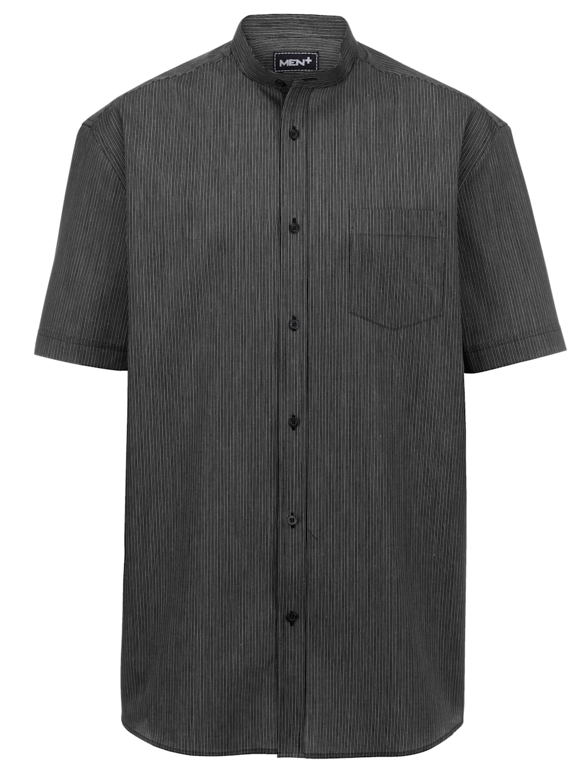 Men Plus Kurzarmhemd kurzarm Knopfleiste casual gestreift spezialschnitt