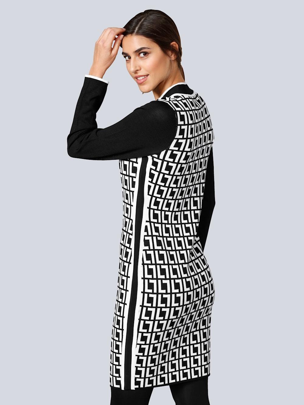 alba moda kleid mit kleinem stehkragen | alba moda