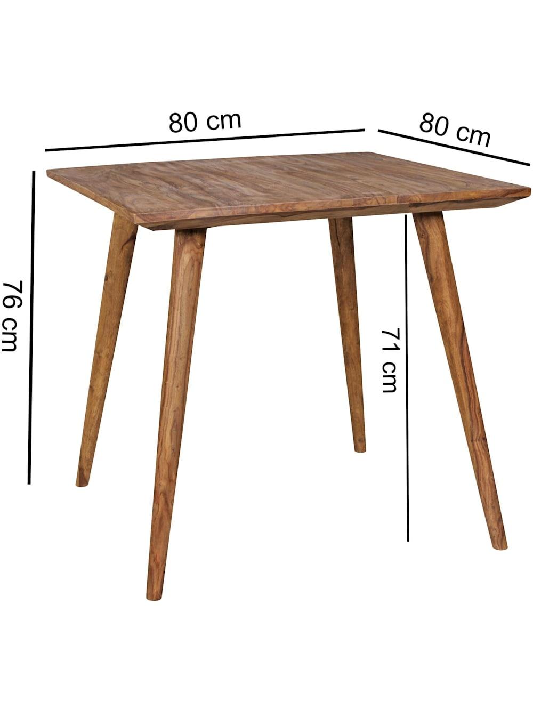 Finebuy Esszimmertisch Sheesham Rustikal Massiv Holz Landhaus Esstisch Tisch Fur Esszimmer In 4 Grossen Klingel