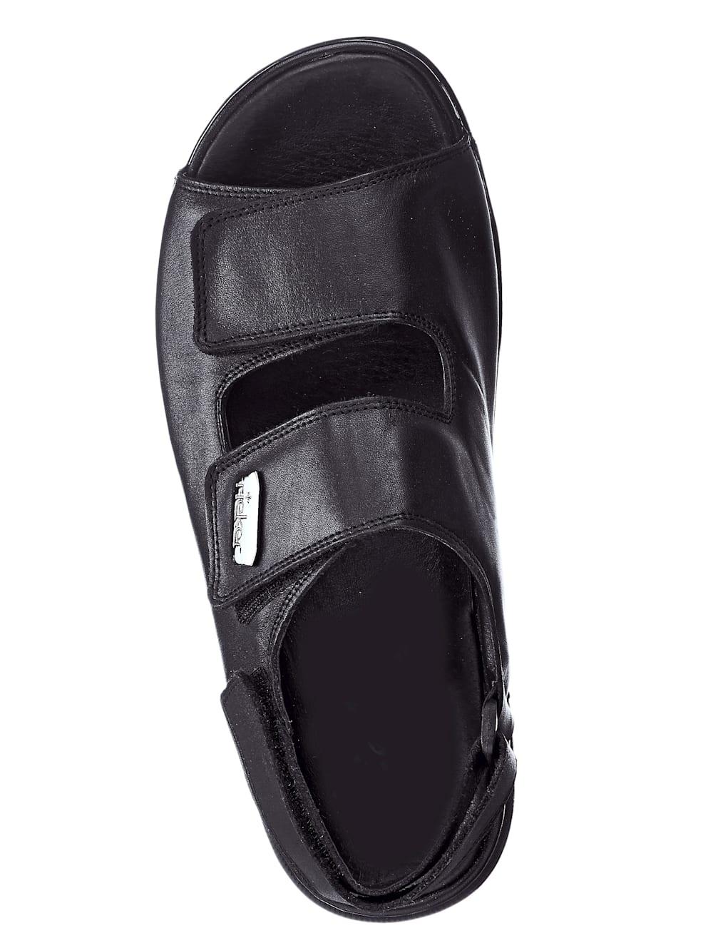 Rieker Sandale mit praktischen Klettverschlüssen | Klingel