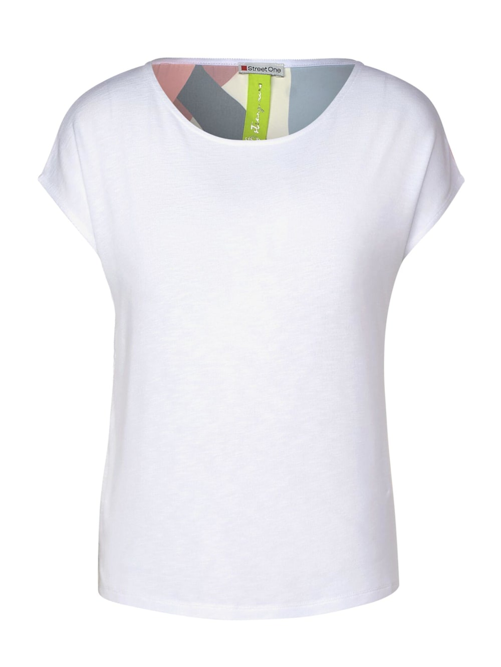 Shirt mit Muster in White Street One