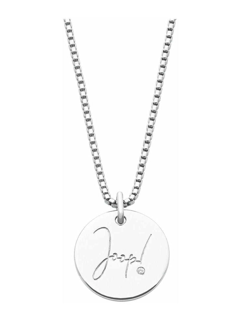 JOOP! Kette mit Anhänger für Damen, Silber 925 mit Zirkonia | Alba Moda