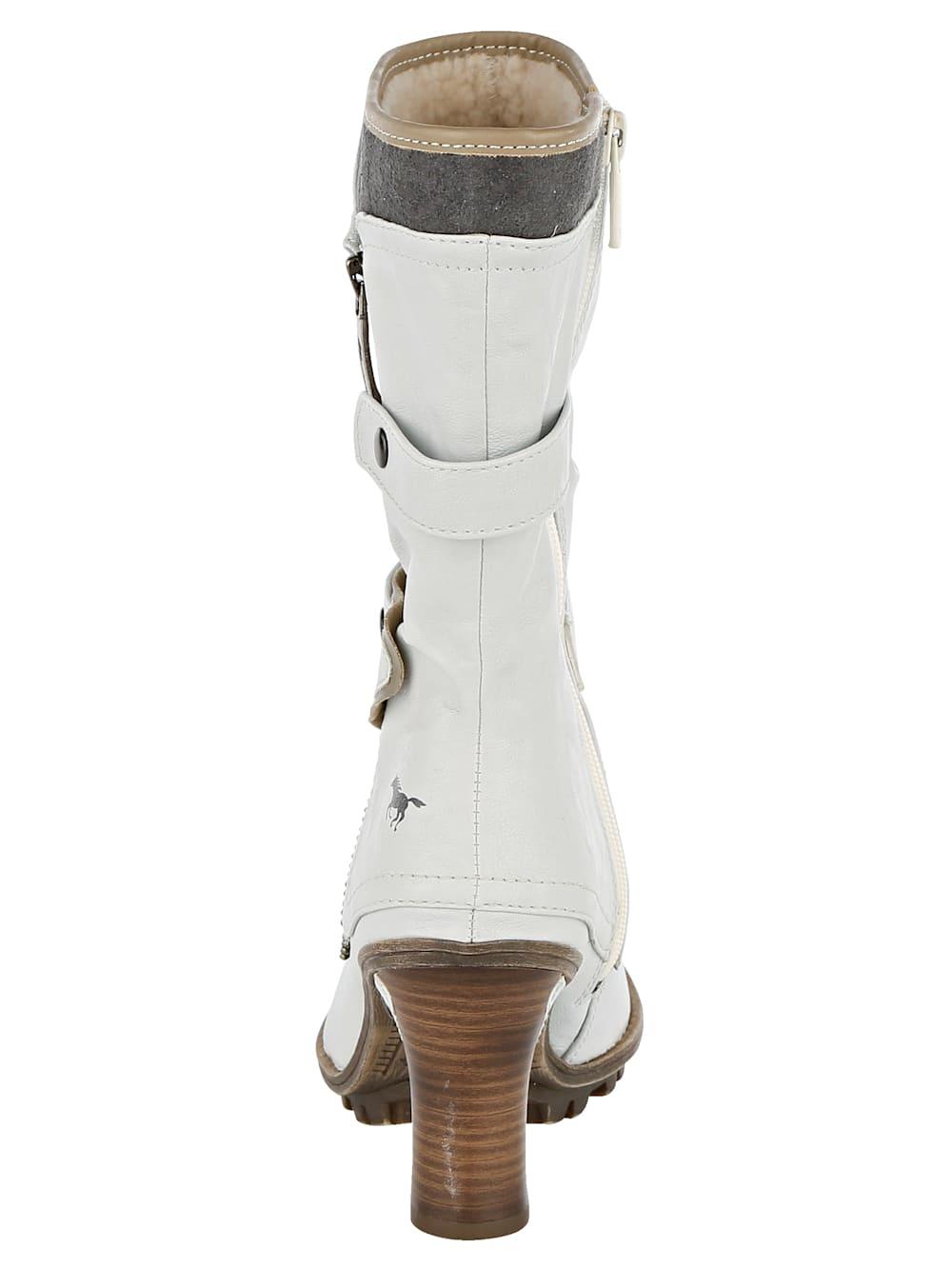 Mustang Stiefel im extravaganten Look | Mia Moda