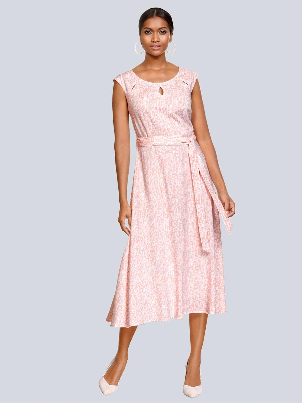 Alba Moda Kleid mit modischen Cut-Outs  Alba Moda