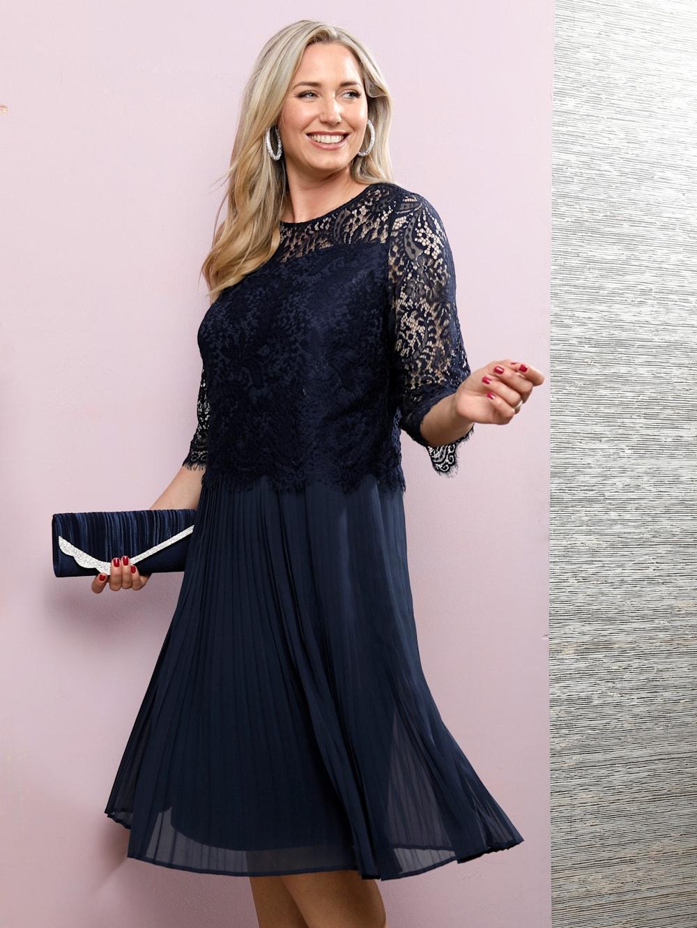 MIAMODA Kleid in eleganter 20-in20-Optik  Happy Size