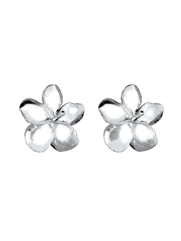 Elli Ohrringe Frangipani Blüte Blume Blüte 925 Silber | Klingel