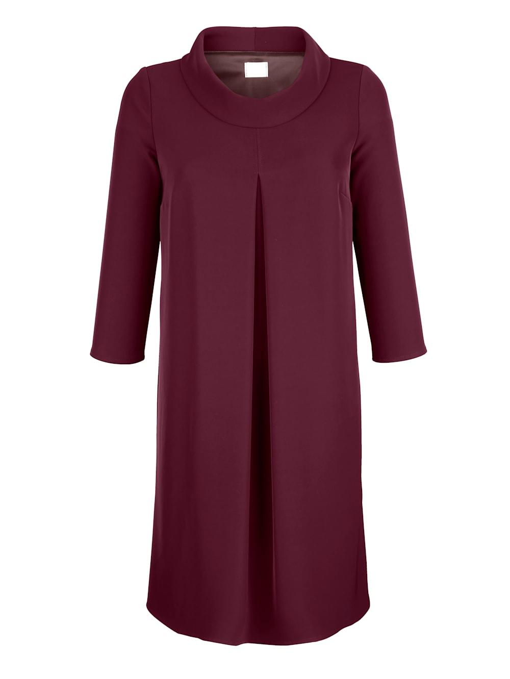 alba moda kleid mit rollkragen | klingel
