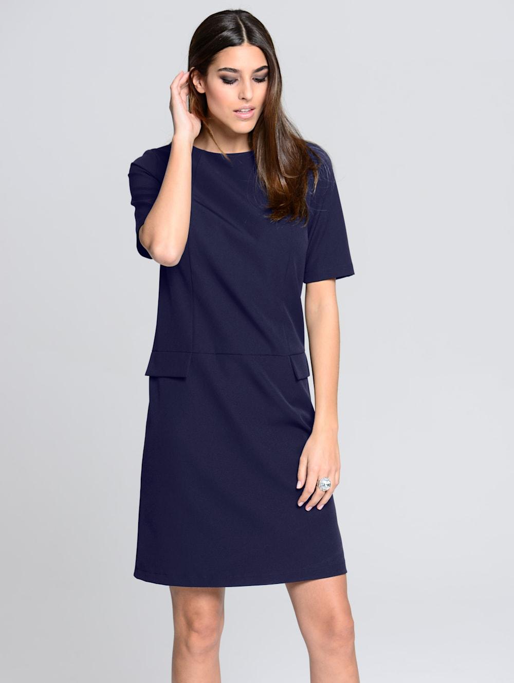 alba moda kleid in leicht kastiger form | alba moda