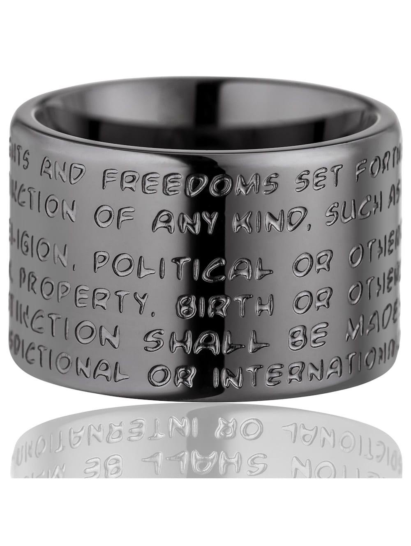 Gilardy Ring Edelstahl Glänzend Edelstahl | Klingel