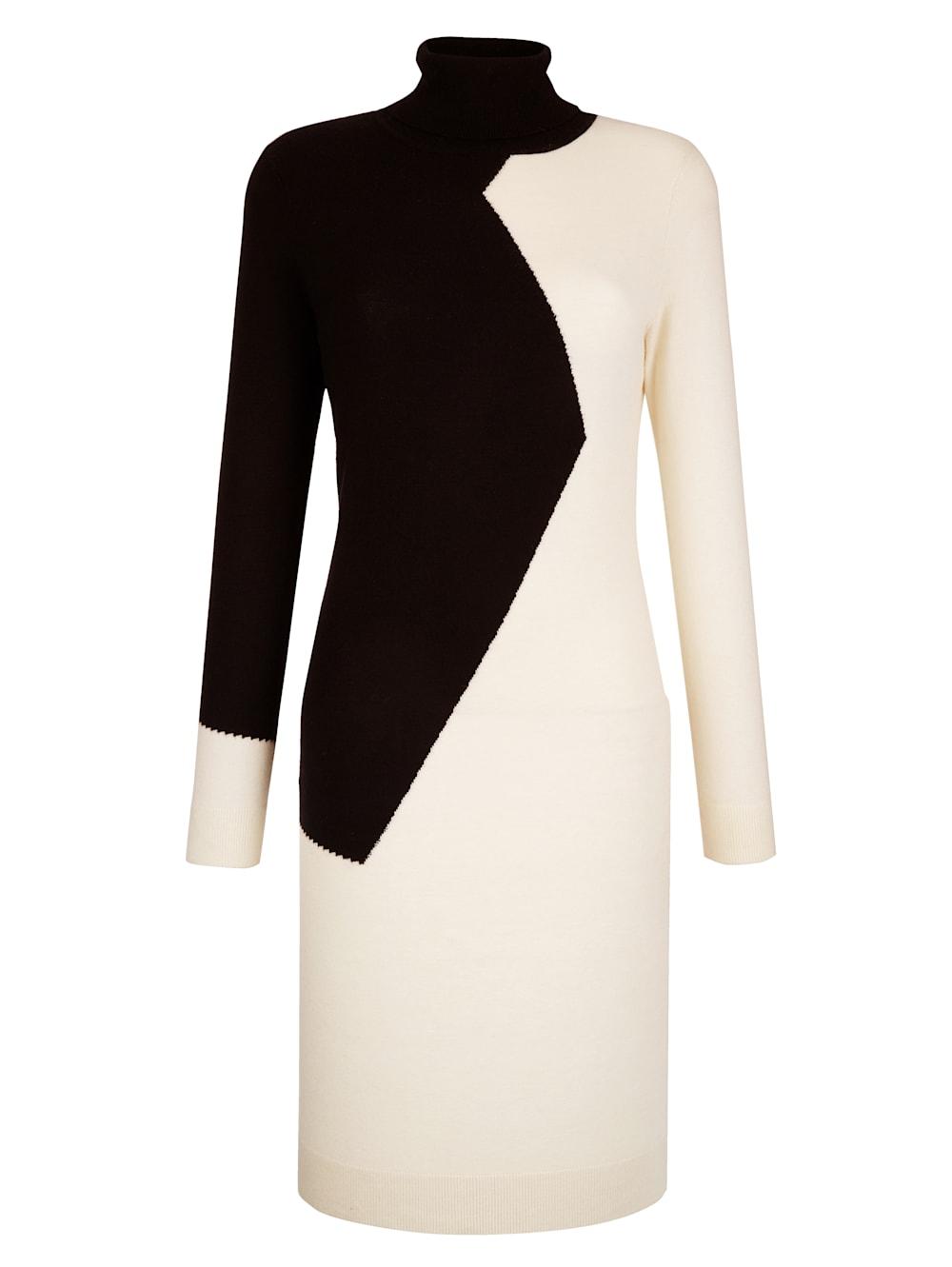 alba moda kleid im patch-look | alba moda