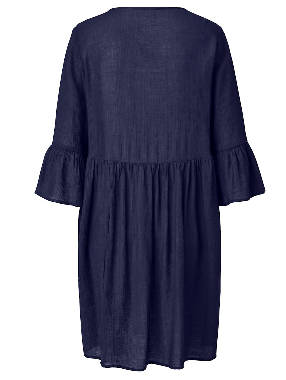 SIENNA Kleid Fließende Viskose Qualität mit leichtem Crinkle-Effekt   Impressionen