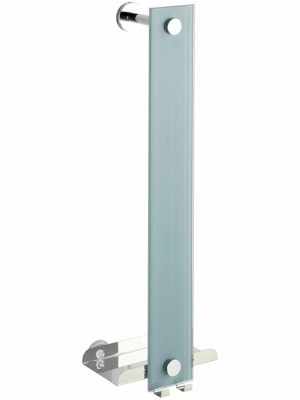 Wenko Power Loc Handtuchhalter Era Glas Befestigen ohne bohren