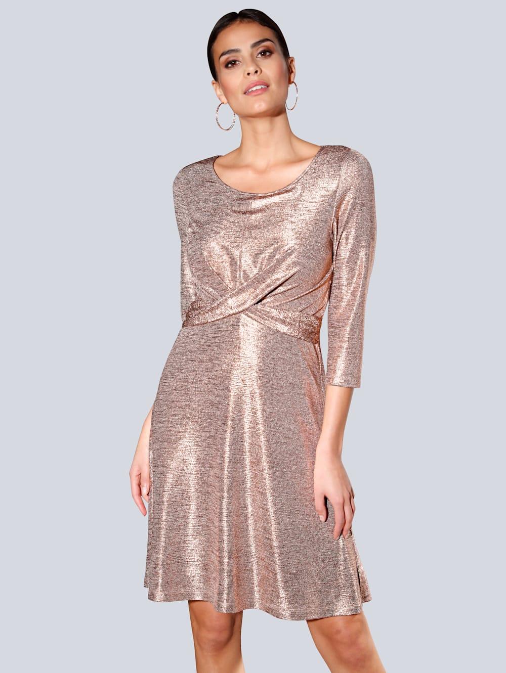 Alba Moda Kleid in Glitzer-Optik  Alba Moda