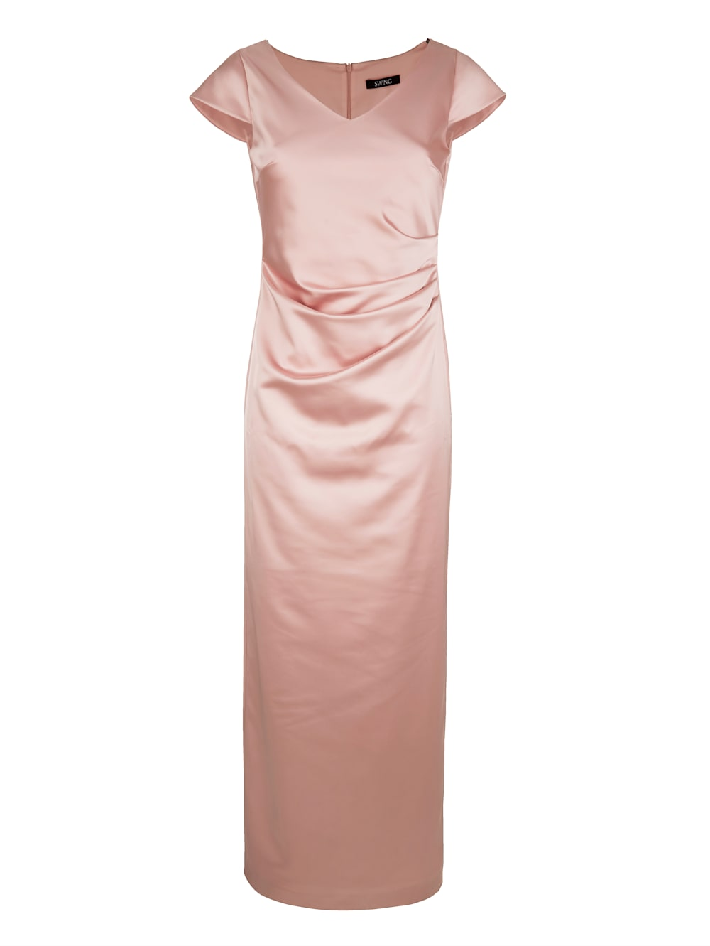 alba moda kleid in eleganter maxilänge   alba moda