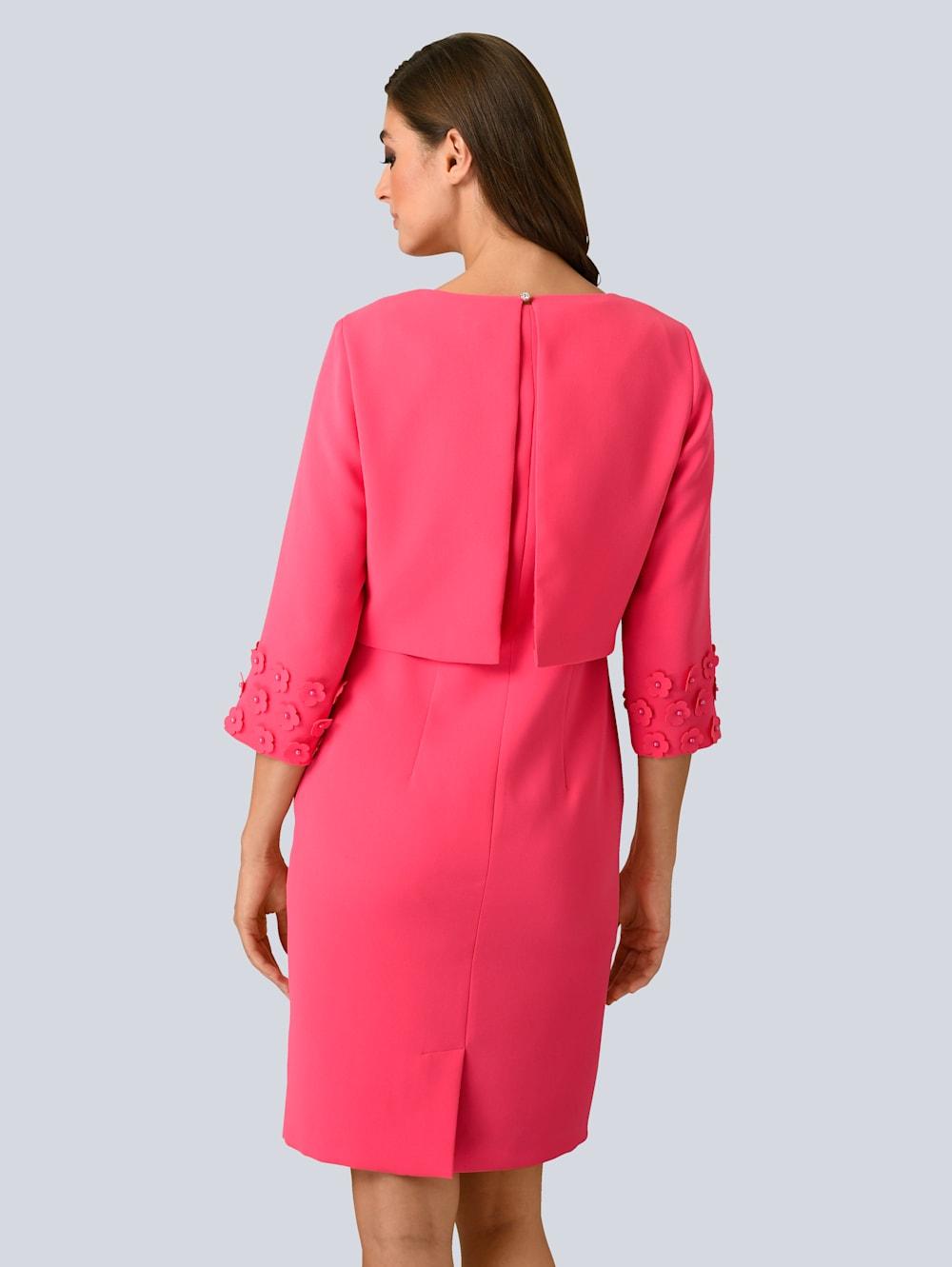 alba moda kleid mit edler kurz-jacke im set | alba moda