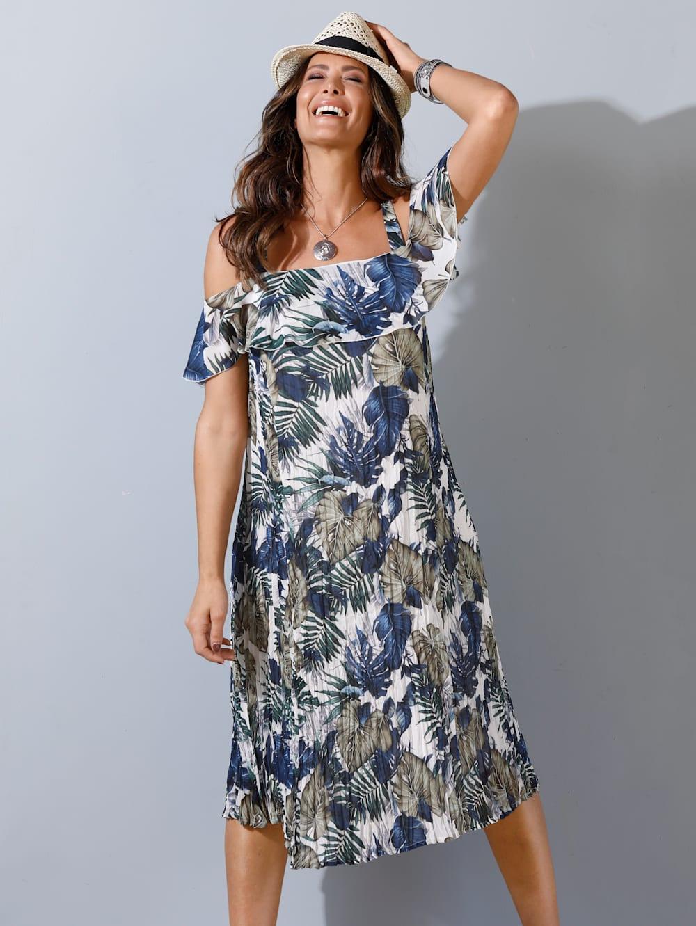 MIAMODA Kleid mit sommerlichem Blumendruck  Mia Moda